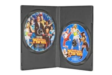 קופסאת DVD ל 2 דיסקים