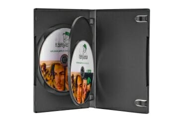 קופסאת DVD ל 3 דיסקים