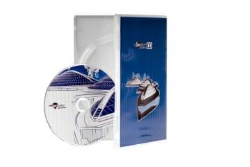 קופסאת DVD שקופה
