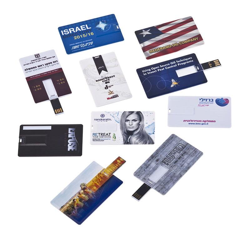 דיסק און קי מעוצב ככרטיס ביקור