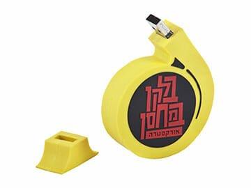 custom usb - Custom USB - תכנון וייצור דיסק און קי בצורת לוגו