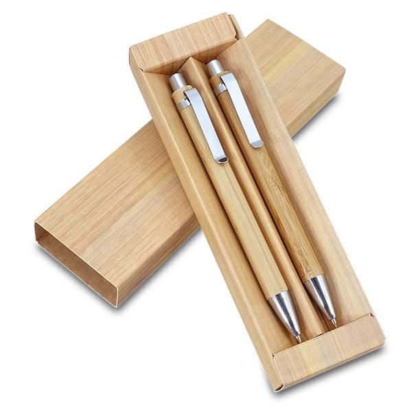 עט יוקרה ממותג – סט במבוק