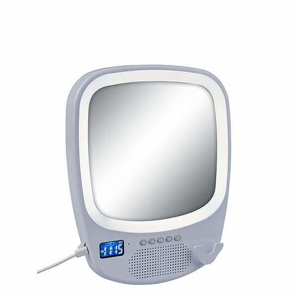 רמקול Bluetooth כולל דיבורית   מראה   תאורת לד היקפית